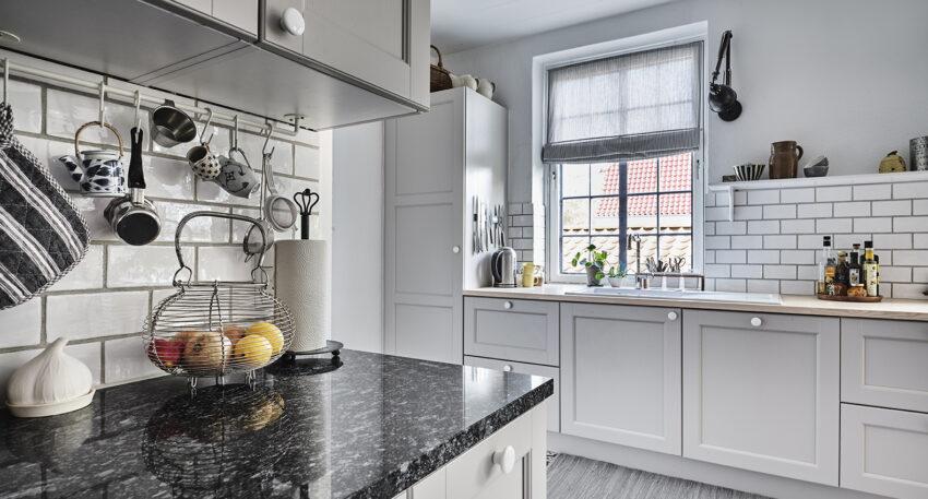 aubo skagerak køkken i lys grå