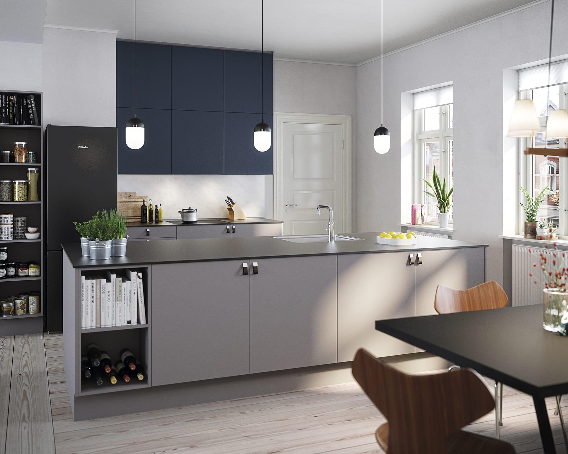 Picture of: Grat Kokken Stilrene Kokkener I Smukt Design Og Hoj Kvalitet