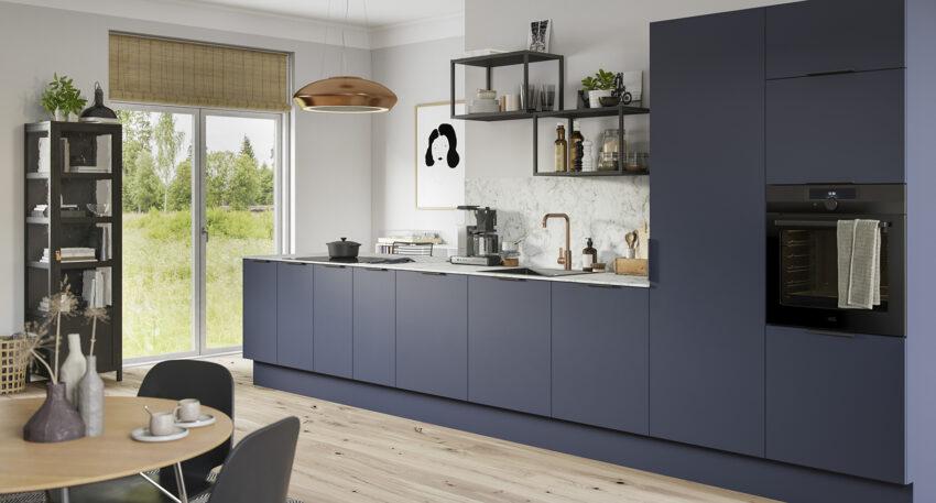 aubo fenix køkken i blå