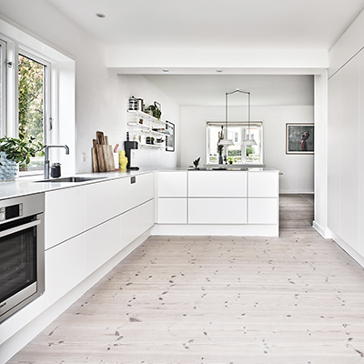 aubo siena køkken i hvid