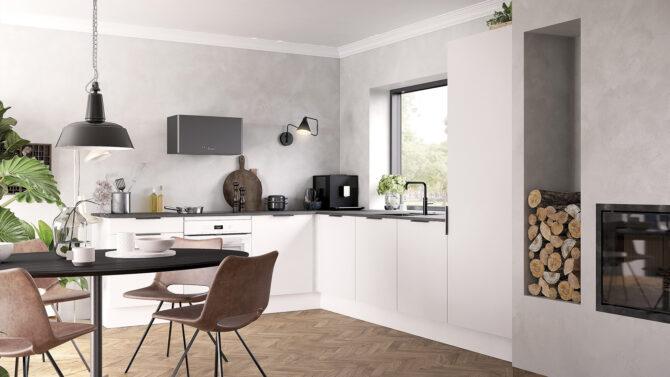 aubo unik køkken i hvid